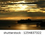 sunrise from hill  viewing... | Shutterstock . vector #1254837322