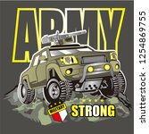 Cartoon Jeep For Kids  Army...