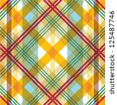 classic textile seamless... | Shutterstock .eps vector #125487746
