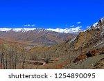 leh ladakh india april 11  ...   Shutterstock . vector #1254890095