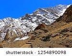 leh ladakh india april 11  ...   Shutterstock . vector #1254890098