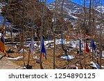 leh ladakh india april 11  ...   Shutterstock . vector #1254890125