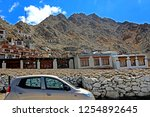 leh ladakh india april 11  ...   Shutterstock . vector #1254892645