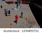 leh ladakh india april 11   the ...   Shutterstock . vector #1254893722