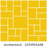 vector frame for photos and... | Shutterstock .eps vector #1254901648