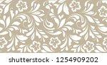 floral seamless pattern.... | Shutterstock .eps vector #1254909202
