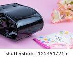 congratulatory gift image of... | Shutterstock . vector #1254917215
