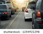 cars on the road heading...   Shutterstock . vector #1254921298