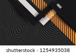 hipster modern geometric... | Shutterstock .eps vector #1254935038