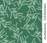seamless pattern with... | Shutterstock .eps vector #1255043365