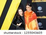 los angeles  dec 9  2018 ... | Shutterstock . vector #1255043605