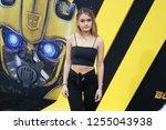los angeles  dec 9  2018 ... | Shutterstock . vector #1255043938