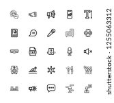 editable 25 speak icons for web ...