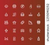 editable 25 hamburger icons for ... | Shutterstock .eps vector #1255090252