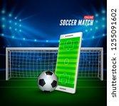 sports betting online. bets web ...   Shutterstock . vector #1255091602