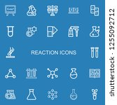 editable 22 reaction icons for... | Shutterstock .eps vector #1255092712