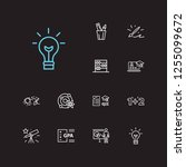 elearning icons set....
