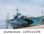 18 8 25 gdynia poland  military ... | Shutterstock . vector #1255111378