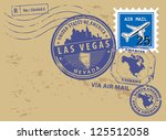 grunge rubber stamp set with... | Shutterstock .eps vector #125512058