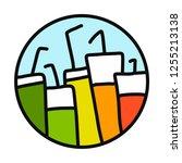 fresh fruit organic or alcohol...   Shutterstock .eps vector #1255213138