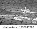 building structures aluminum... | Shutterstock . vector #1255317382