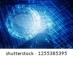 2d illustration concept of... | Shutterstock . vector #1255385395