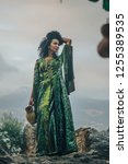 Young Turkish Woman Model With...