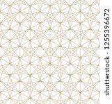 japanese seamless kumiko... | Shutterstock .eps vector #1255396672