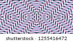 pattern with optical illusion.... | Shutterstock .eps vector #1255416472