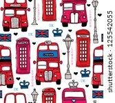 Seamless Illustration London...