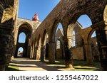 the saint mathieu lighthouse...   Shutterstock . vector #1255467022