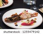 lagustine tartare. tasty...   Shutterstock . vector #1255479142