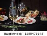 lagustine tartare. tasty...   Shutterstock . vector #1255479148