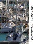 italy  sicily  mediterranean... | Shutterstock . vector #1255495048
