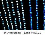 blue and white bokeh beautiful... | Shutterstock . vector #1255496122