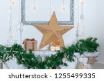 christmas decorations for the... | Shutterstock . vector #1255499335