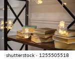 decorations and lights on the... | Shutterstock . vector #1255505518