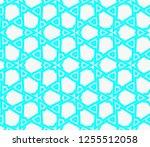 decorative wallpaper design in... | Shutterstock .eps vector #1255512058