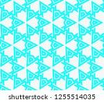 decorative wallpaper design in... | Shutterstock .eps vector #1255514035