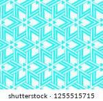 decorative wallpaper design in... | Shutterstock .eps vector #1255515715