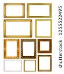 Set Collection Golden Frame An...