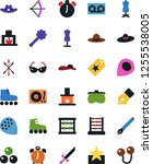 vector icon set   sewing... | Shutterstock .eps vector #1255538005