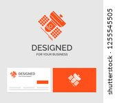 business logo template for... | Shutterstock .eps vector #1255545505