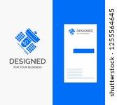 business logo for broadcast ... | Shutterstock .eps vector #1255564645