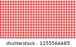 checkered pattern. linear... | Shutterstock .eps vector #1255566685