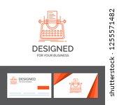 business logo template for... | Shutterstock .eps vector #1255571482