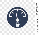 car petrol gauge icon. trendy... | Shutterstock .eps vector #1255573675