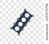 car cylinder head icon. trendy... | Shutterstock .eps vector #1255573798