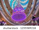 paris  france   december 22 ... | Shutterstock . vector #1255589218