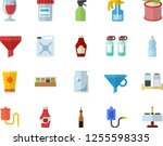 color flat icon set spice flat... | Shutterstock .eps vector #1255598335